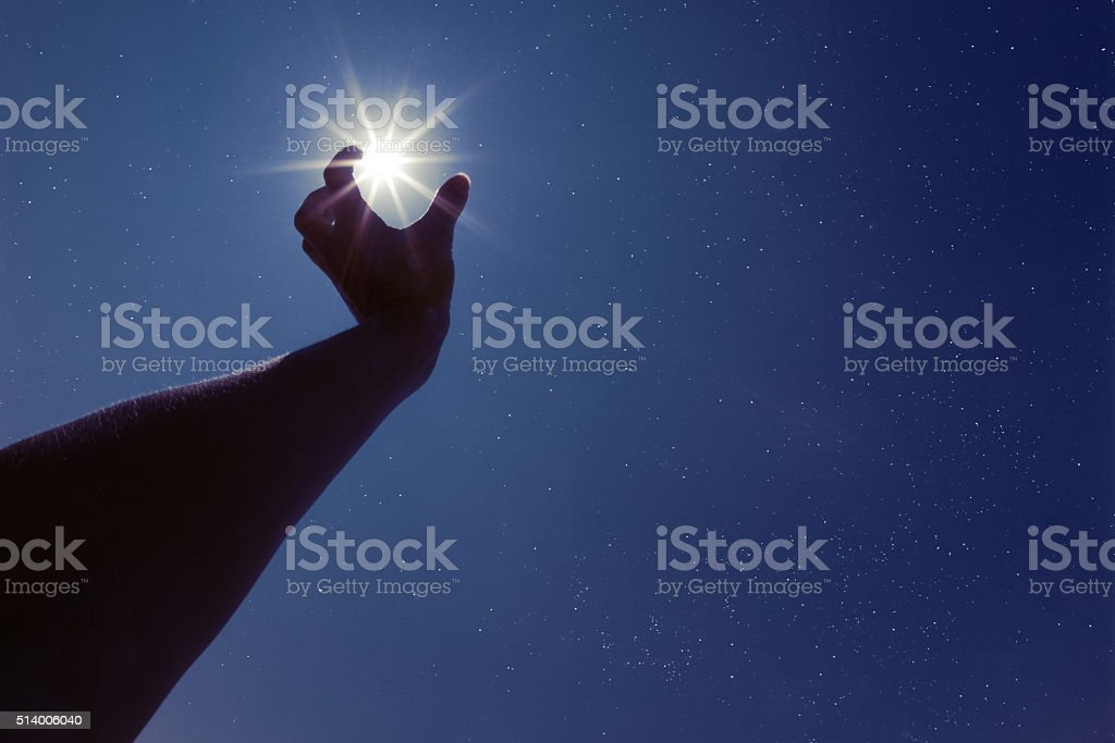 Reach For The Stars stock photo