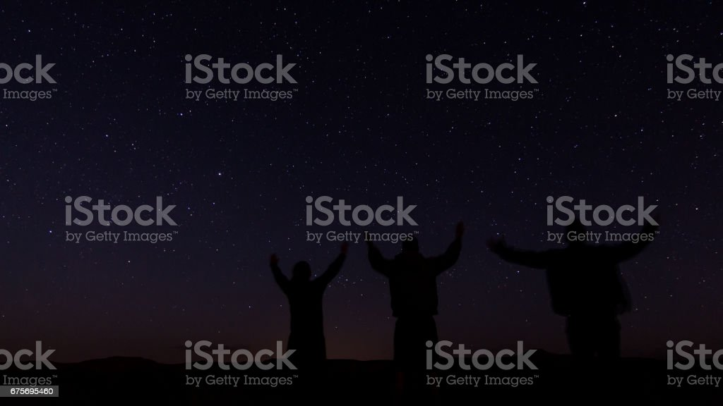 Reach For the Stars royalty-free stock photo