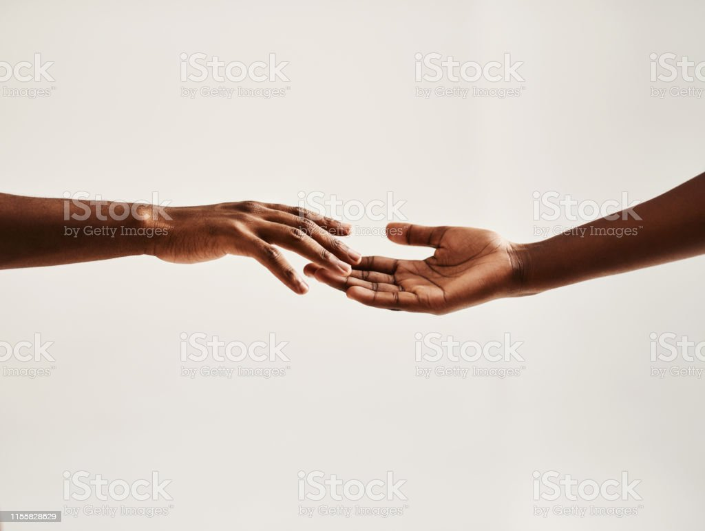 Reach out to someone - Royalty-free A Helping Hand Stock Photo