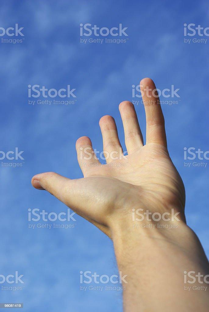 Reach the sky royalty-free stock photo