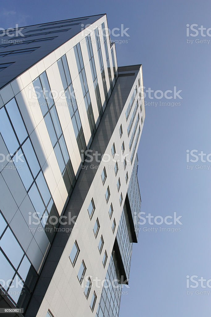 Reaching for the sky royalty-free stock photo