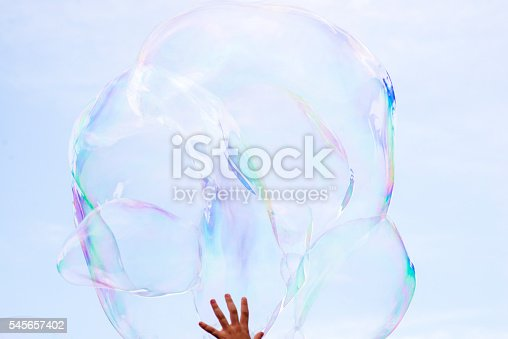 Soap Sud, Bubble,  Large, Cut Out, Sphere, Water, Oversized, Sky, Cloudscape, Cloud - Sky, Blue, Backgrounds