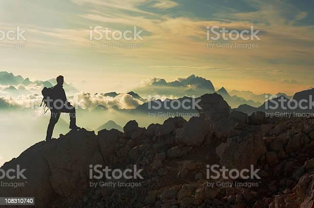 Photo of Reaching the mountain peak
