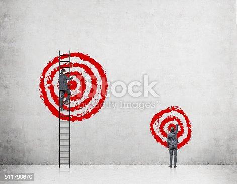 513121118 istock photo Reaching your aim 511790670