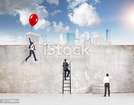 513121118 istock photo Reaching your aim 511790814