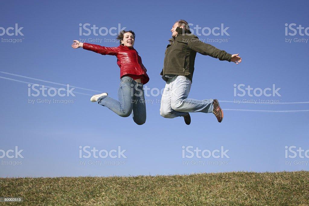 reactive couple royalty-free stock photo