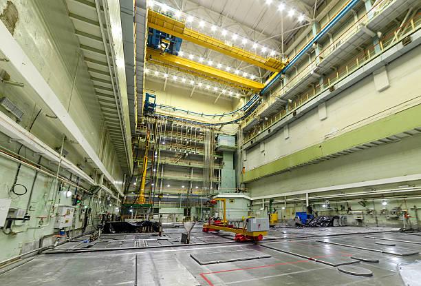 reactor room rbmk. - reattore nucleare foto e immagini stock