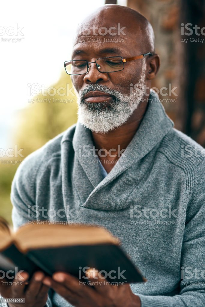 Read more, worry less stock photo