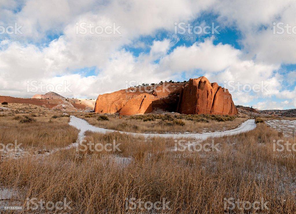 Read Rock Park New Mexico stock photo