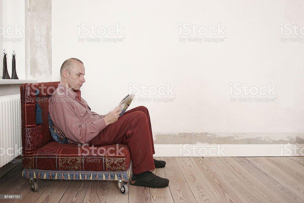 Reader royalty-free stock photo