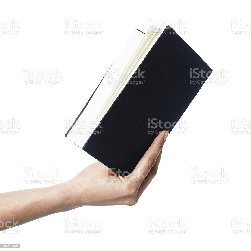 Reading a book foto