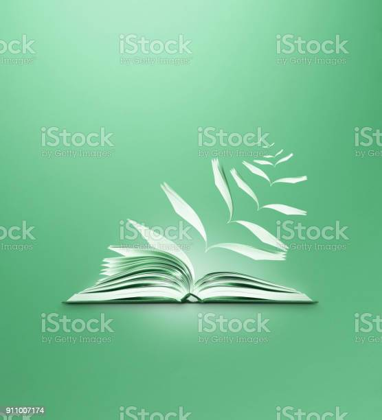 Reading book flying pages green background picture id911007174?b=1&k=6&m=911007174&s=612x612&h=n tniiwgjzieamezbgi23xdlbks7gse13sqffqtkqzs=
