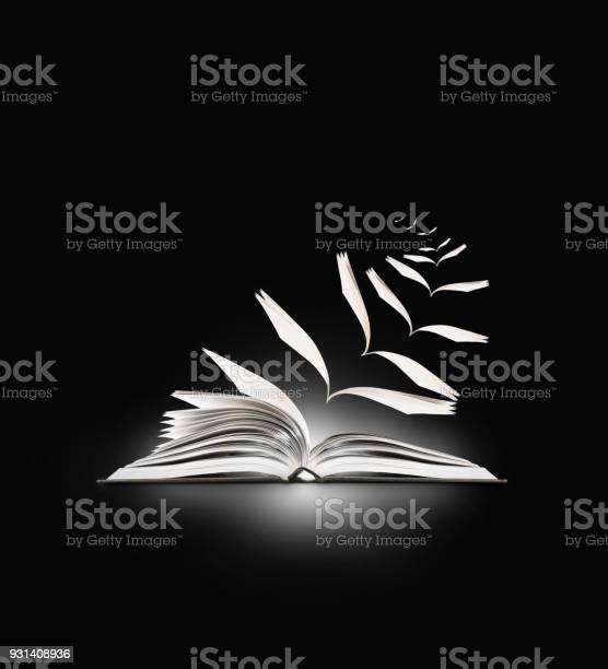Reading book flying pages on black picture id931408936?b=1&k=6&m=931408936&s=612x612&h=2ckyp wp39w4x07xbmefrchvdid63sgpygxsfu62fmg=