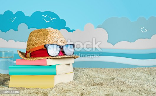 Book, Textbook, Reading, Women, Summer Holiday