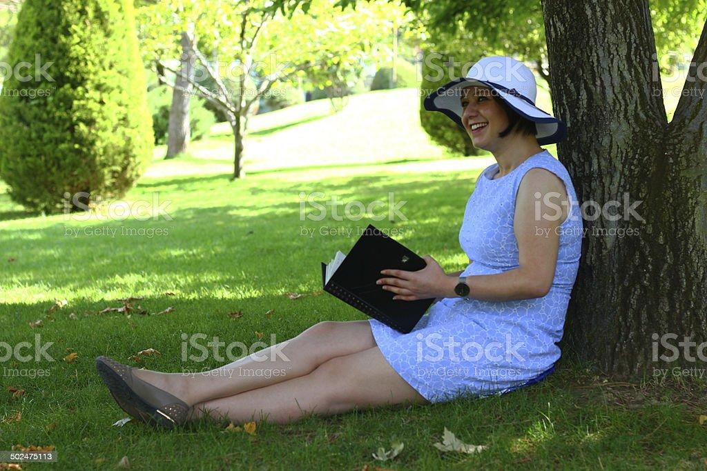 Reading books is freedom stok fotoğrafı