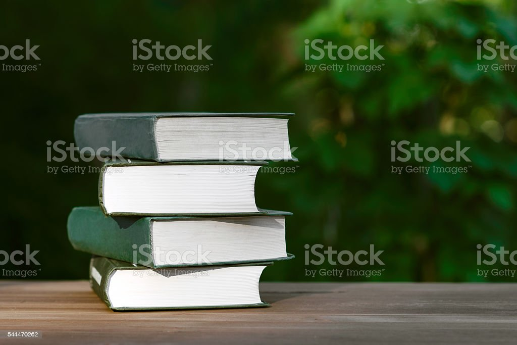 reading books or training stock photo