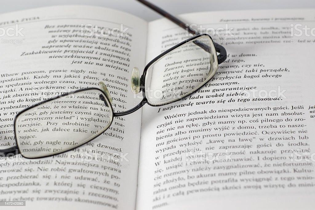 Reading breake royalty-free stock photo