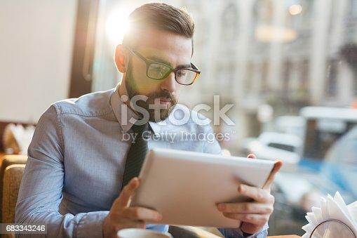 istock Reading financial data 683343246