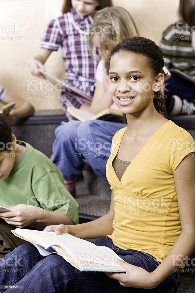 Reading is Fun! royalty-free stock photo