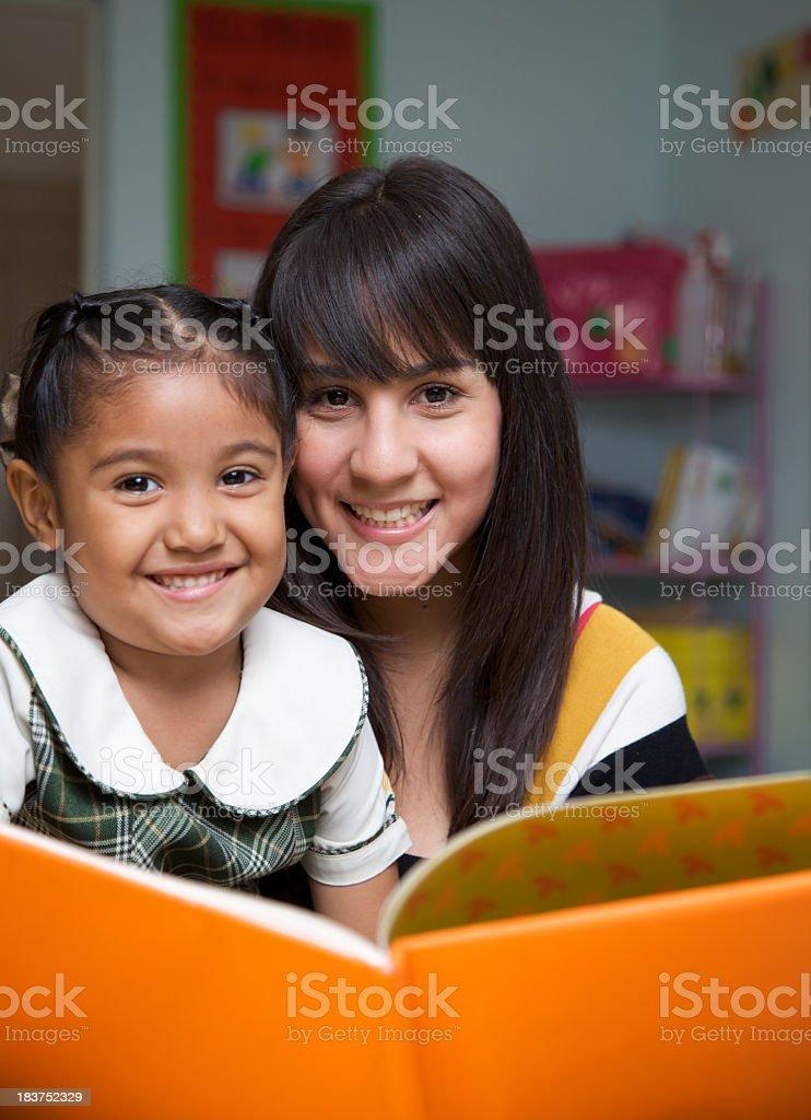 Reading is fun royalty-free stock photo