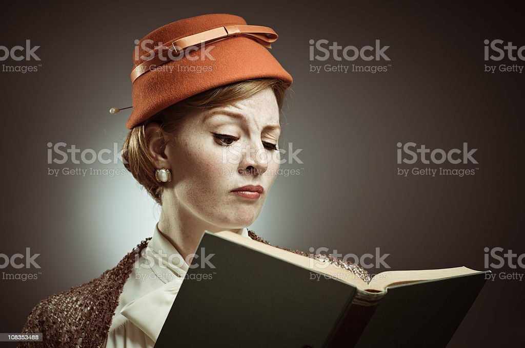 Reading Is So Old Fashioned royalty-free stock photo