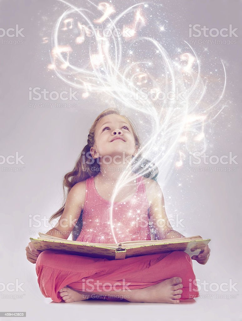 Reading is the key to a whole other world stock photo
