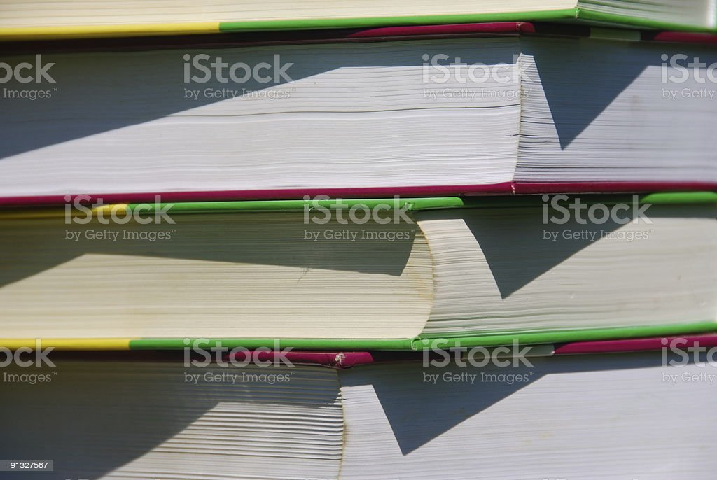 Reading material royalty-free stock photo
