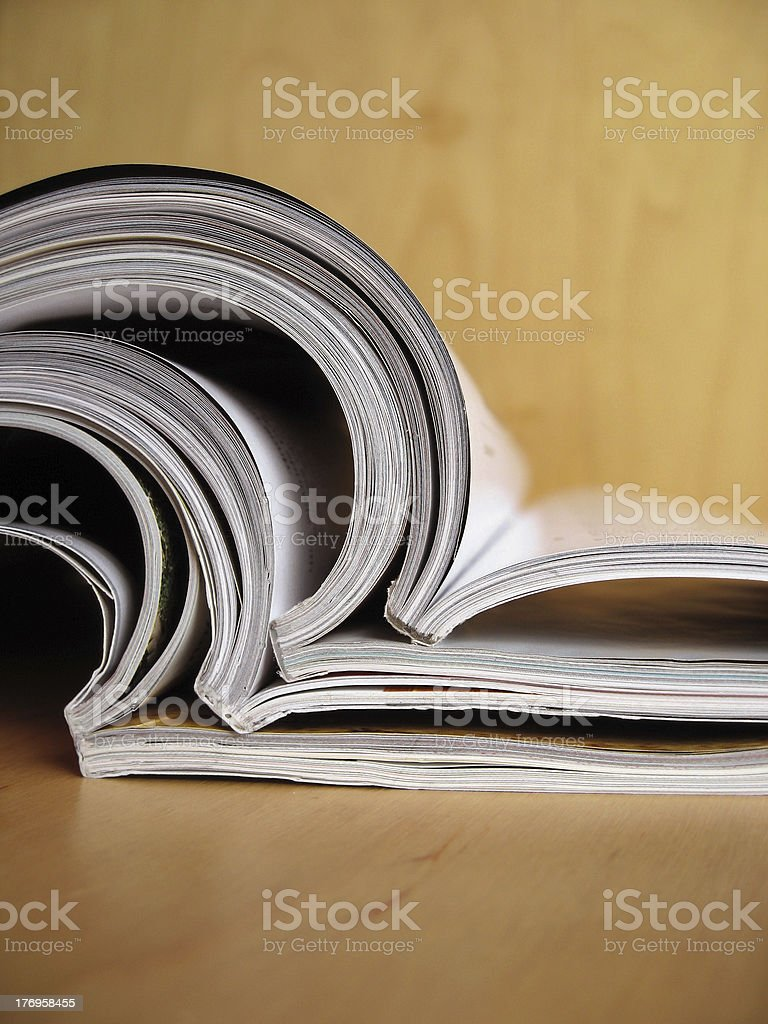Reading Materials 3 royalty-free stock photo