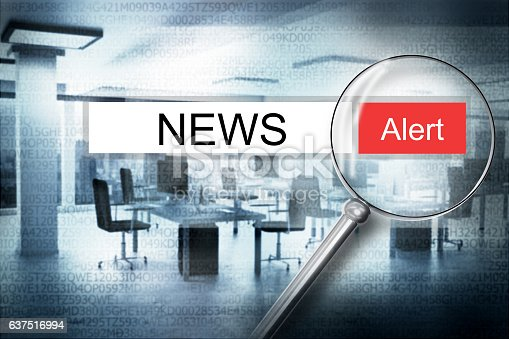 istock reading news browser search security alert 3D Illustration 637516994