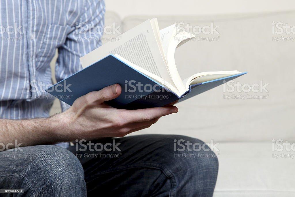 Reading royalty-free stock photo
