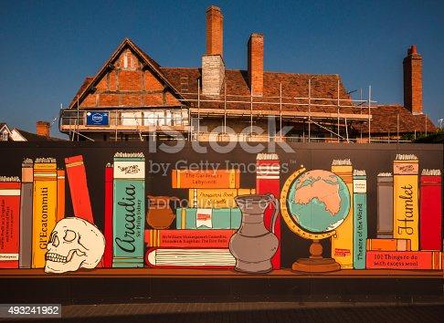 istock Reading promotion - Shakespeare Birthplace Restoration 493241952