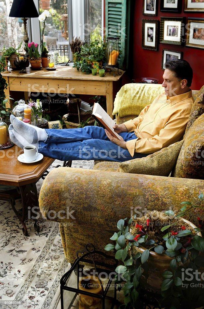 Reading Room royalty-free stock photo