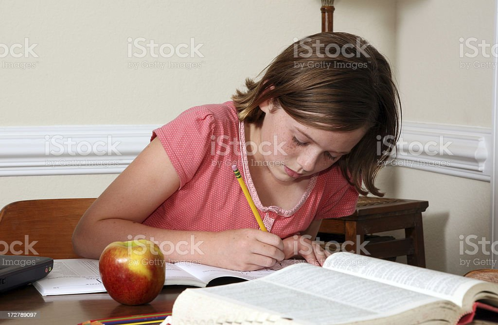 Reading  See others from this series royalty-free stock photo