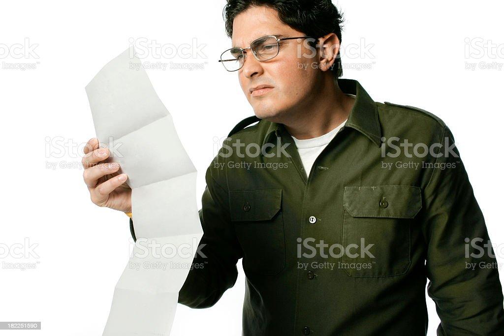 Reading the Fine Print foto