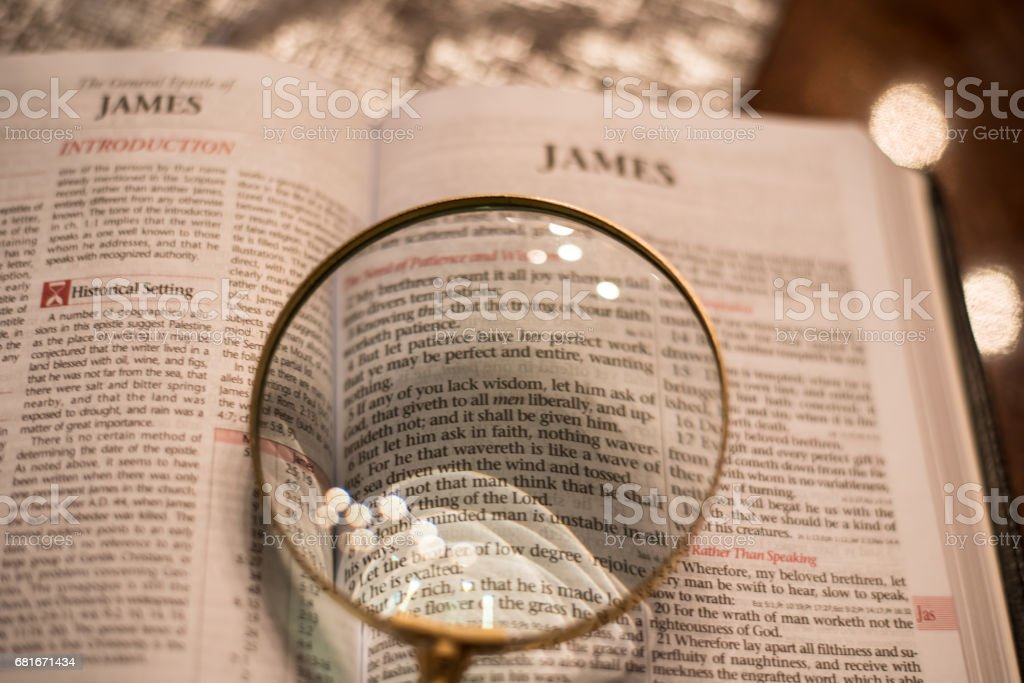 Reading The Word Of God Stock Photo More Pictures Of Bible Istock