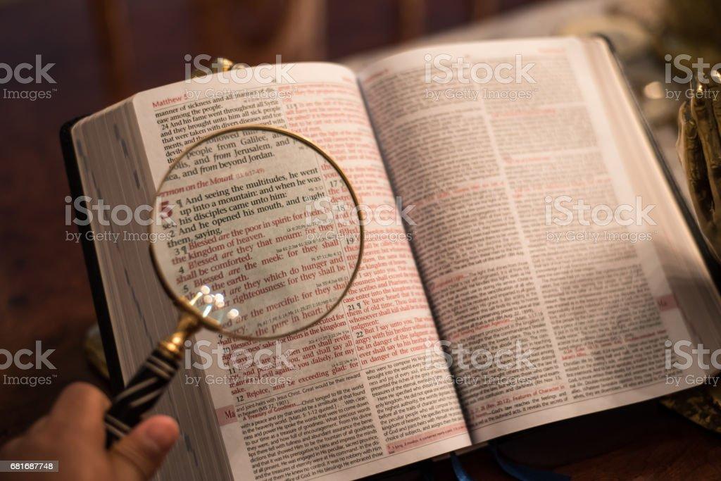 Reading The Word Of God Stock Photo Istock