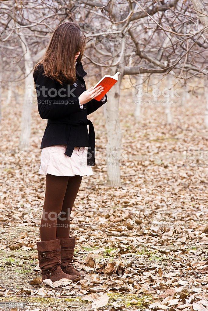 Reading woman royalty-free stock photo