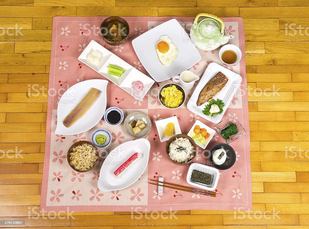 Ready Breakfast royalty-free stock photo