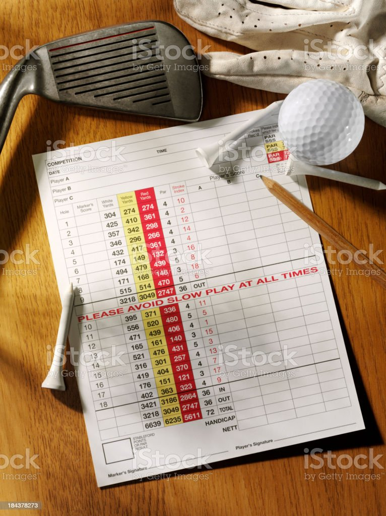 Ready for a Game of Golf stock photo