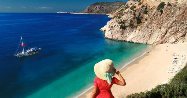 Bereit für einen schönen sonnigen Strandurlaub – Foto