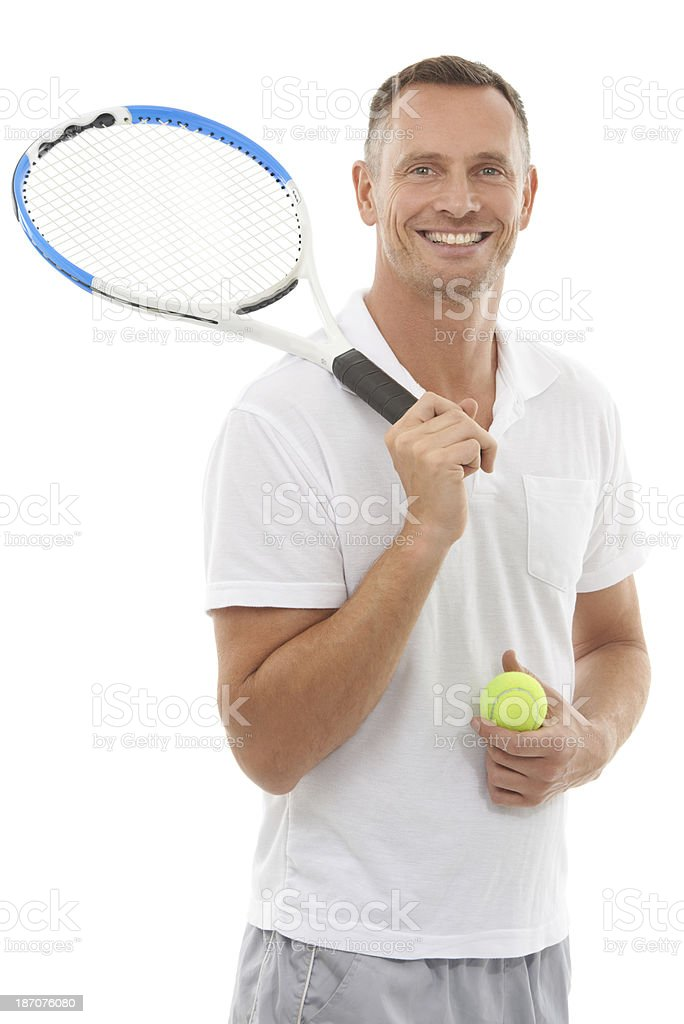 Ready for a match? stock photo