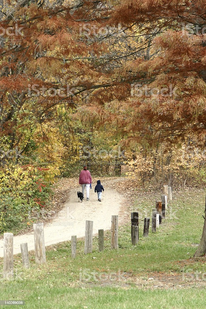 Ready For A Walk? royalty-free stock photo