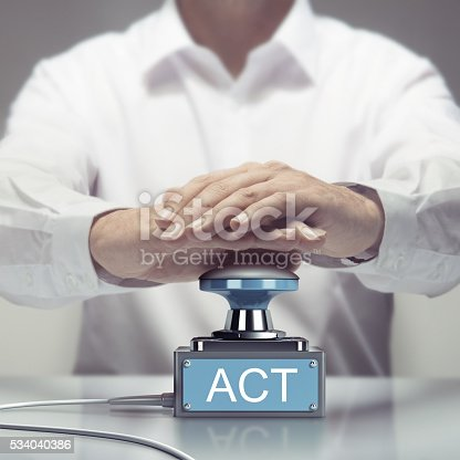 istock Ready for Action, Act Now 534040386