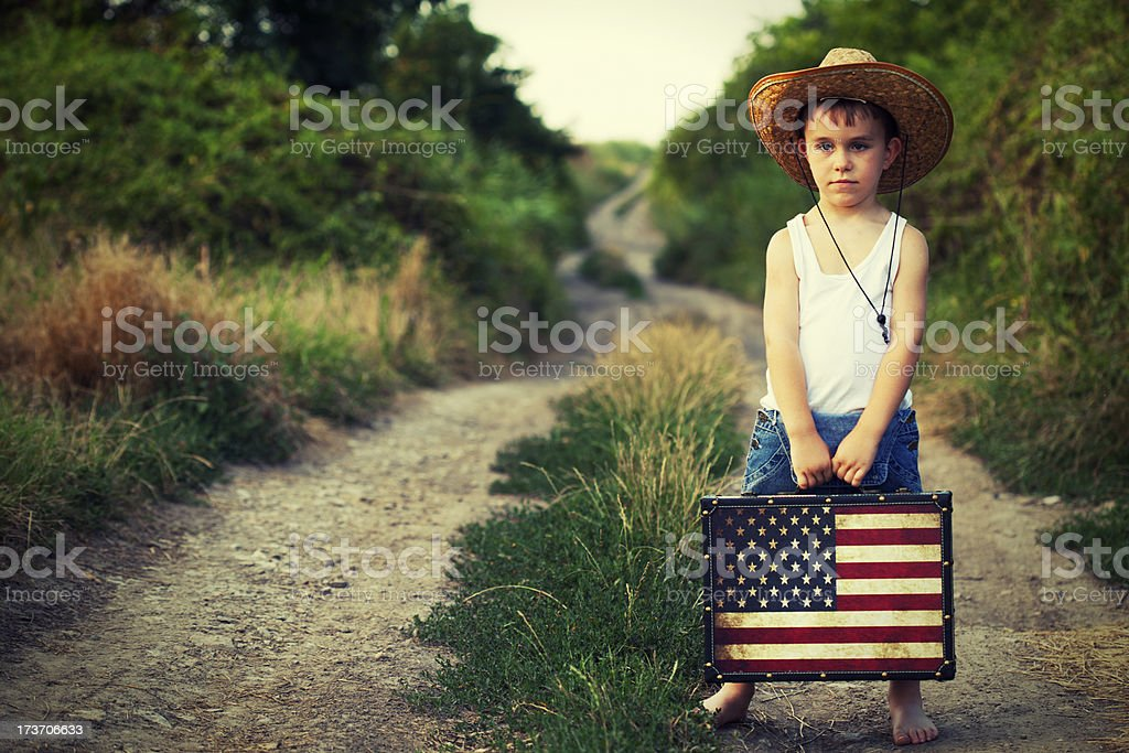 Ready for adventure royalty-free stock photo