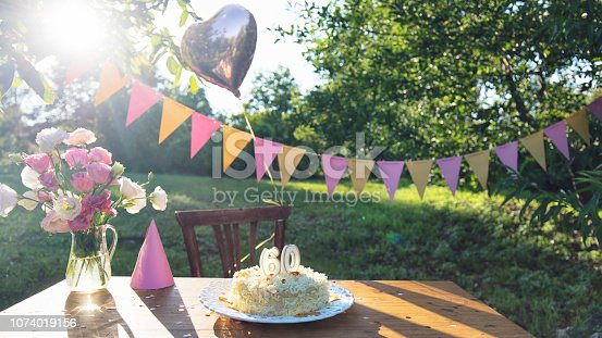 istock Ready for birthday party 1074019156