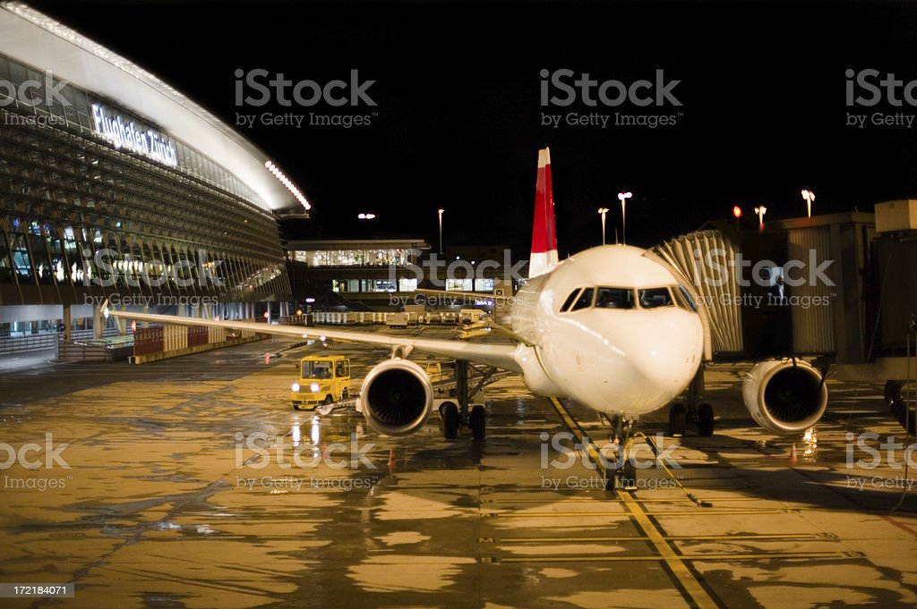 Ready for boarding stock photo