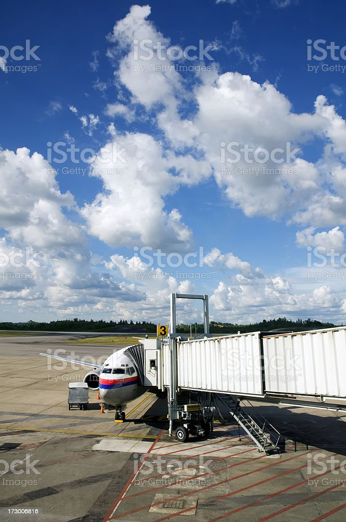Ready for boarding royalty-free stock photo