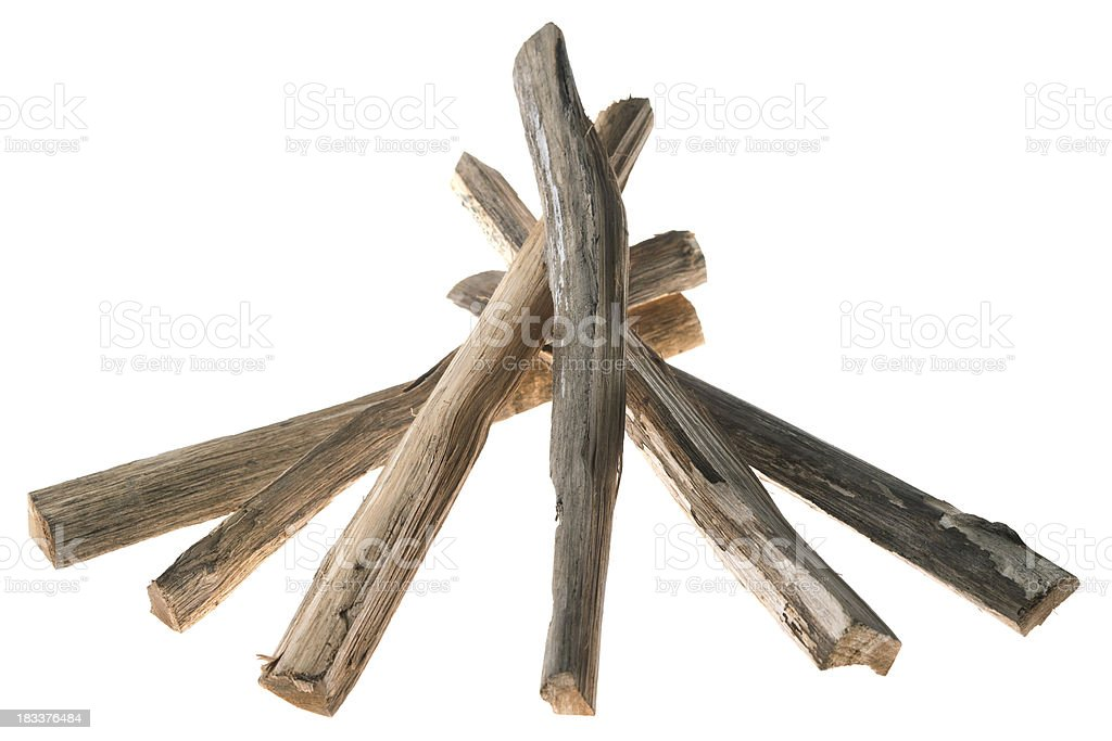 ready for bonfire royalty-free stock photo
