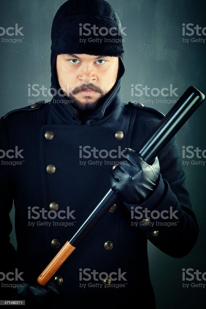 Ready for fight royalty-free stock photo