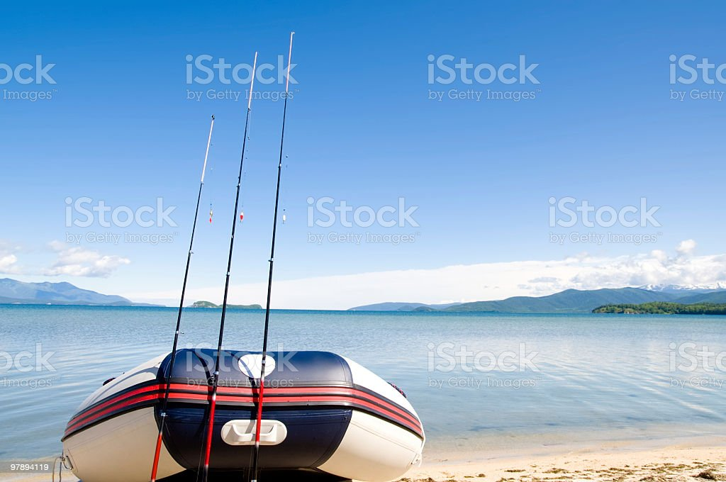 ready for fishing royalty-free stock photo